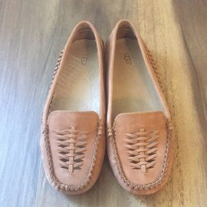 UGG Clary Woven Moccasins - Size 7